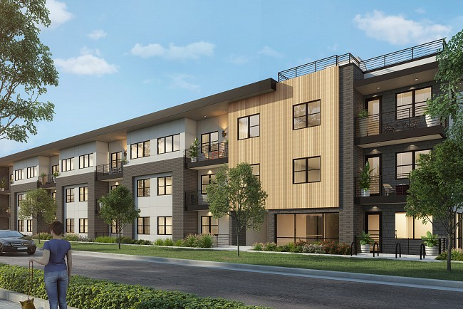 New Luxury Condiminiums in Cherry Creek North